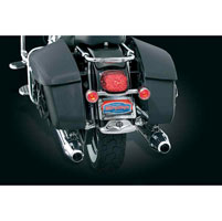 Kuryakyn Deluxe Bullet Light Rear Turn Signal Bar Kit