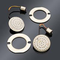 Custom Dynamics Amber LED Cluster Flat-Style Turn Signal Insert