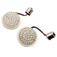 Custom Dynamics Red LED Cluster Bullet/Deuce-Style Turn Signal Inserts