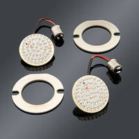Custom Dynamics Red LED Cluster Flat-Style Turn Signal Insert