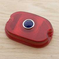 J&P Cycles® Taillight Lens with Blue Dot