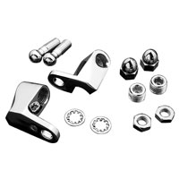 Chrome Front Turn Signal Mount Kit