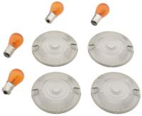 J&P Cycles® Turn Signal Lens Kit