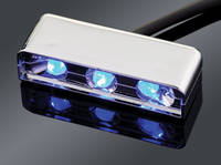 Custom Dynamics LED Accessory Lights with Chrome Housings