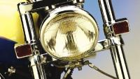 Custom Fork-Mounted Marker Lights