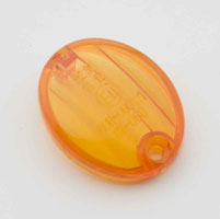 J&P Cycles® Replacement Lens, for J&P Cycles Mini-Oval Turn Signal Assemblies