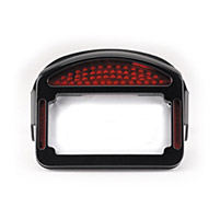 CycleVisions Eliminator Black LED Taillight/License Plate Frame