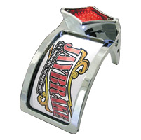 Jaybrake Primary Drive Diamond Taillight License Plate Mount