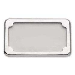 CycleVisions Chrome Beveled License Plate Frame