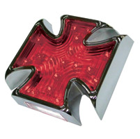 LED Maltese Cross Taillights for Custom Use