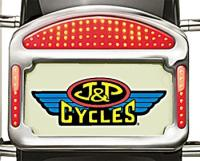 Eliminator LED Taillight/License Plate Frame