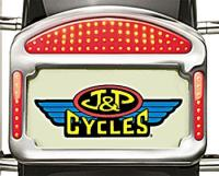 CycleVisions Eliminator LED Taillight/License Plate Frame