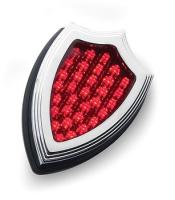 Rick Doss LED Crest Shaped Taillight