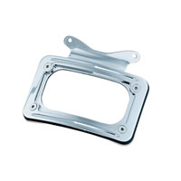 Kuryakyn Chrome Curved License Plate Mount
