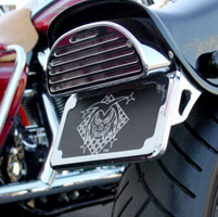 Joker License Plate and Tail Light Bracket