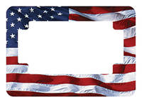 American Eastern Traders US Flag License Plate Frame