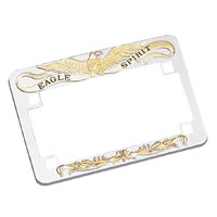 J&P Cycles® Eagle Spirit License Plate Frame