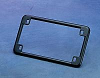 'Black Chrome' License Plate Frame