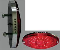 J&P Cycles® Super-Thin LED Cateye Taillight