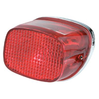 J&P Cycles® Chrome Taillight