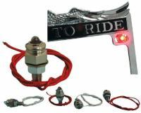 J&P Cycles® License Plate Mounting Hardware Kit
