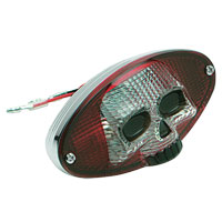 3-D Skull Taillight Cateye