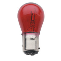 J&P Cycles® Red Coated 1157 Taillight Bulb