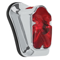 J&P Cycles® Wide Led Tombstone Taillight