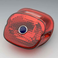 J&P Cycles® Laydown Taillight Lens