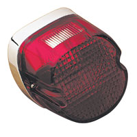 J&P Cycles® Replacement Taillight Laydown Lens