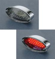 LED Cateye Taillight with Stepped Housing