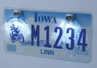 J&P Cycles® License Plate Light Kit