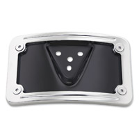 Milwaukee Twins Chrome License Plate Mount