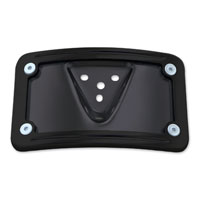 Milwaukee Twins Black License Plate Mount