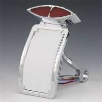 J&P Cycles® Taillight and License Plate Assembly