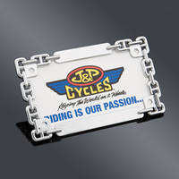 J&P Cycles® Chain Style Custom License Plate Frame
