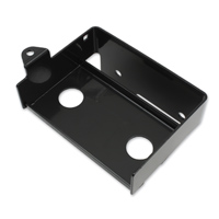 V-Twin Manufacturing Black Battery Carrier Kit