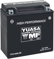 Yuasa Maintenance Free Battery Model YTX14-BS