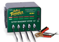 Battery Tender  SuperSmart Multi-Bank Battery Management System