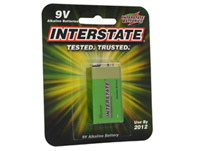 Interstate 9 Volt Replacement Batteries