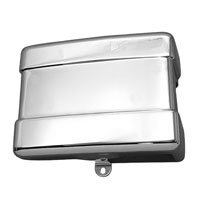 V-Twin Manufacturing Chrome Battery Cover