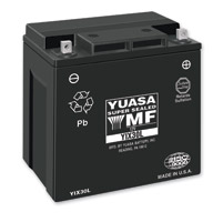 YUASA AGM Maintenance Free Battery Model YIX30L-BS