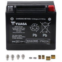 YUASA Factory Activated Battery Model YTX20L