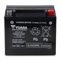 YUASA High-Performance Factory Activated Battery Model YTX20HL-BS