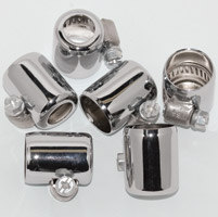 NAMZ Custom Cycle Hose Clamps