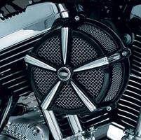 Kuryakyn Mach 2 Black and Chrome Air Cleaner Kit
