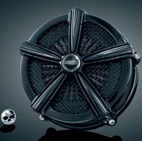 Kuryakyn Mach 2 Black Air Cleaner Kit