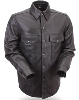 First Manufacturing Co. Men's Lightweight Leather Shirt