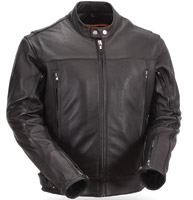 First Manufacturing Co. Men's Updated Scooter Leather Jacket