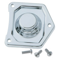 J&P Cycles® Chrome Starter Solenoid Cover